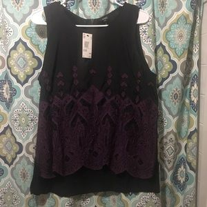 Buffalo David Bitton Sequin Blouse NWT